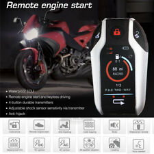 Anti Theft Motorcycle Bicycle Security Alarm Lock Remote Locating Engine Start