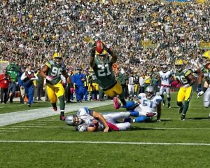CHARLES WOODSON 8X10 PHOTO GREEN BAY PACKERS PICTURE NFL FOOTBALL GAME ACTION