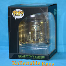 Funko Star Wars R2-d2 Gold Chrome US Pop Vinyl Dome Collector Edition