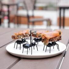12pcs/Set Ant Snack Cake Dessert Kitchen Fruit Fork Cooking Tools Gadgets Party
