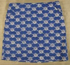 Lilly Pulitzer Simple Skirt in True Blue Mari Time 4 nautical knots monkey fist