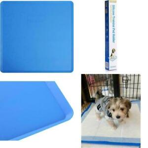 """Silicone Pad Holder Rolls Up Fits 23.5"""" Training Pee Pads Housebreaking Solution"""