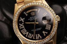 Orologi da polso Rolex uomo con cinturino in oro giallo