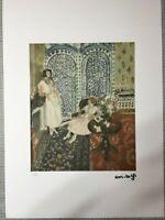 Henri Matisse Litografia cm 50x70 con fotoautentica edizione 1995