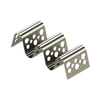 Tablecraft TRSP23 Stainless Steel Taco Taxi Server, Holds 2-3 Tacos
