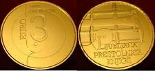 3 EURO COMMEMORATIVE SLOVENIE 2010 DORE OR FIN 24 CARATS