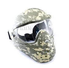 Heavy Duty Full Face Mask with Anti-Fog Lens / ACU (KHM Airsoft)