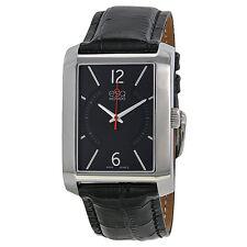ESQ MOVADO Men's 07301406 Rectangular Watch with Arabic Numerals Watch