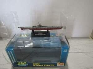 DKM U-BOAT TYPE IX Platinum Assembled Model Submarine 1:700 Scale SEA POWER NIB