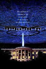 INDEPENDENCE DAY Movie POSTER 27x40 C Bill Pullman Will Smith Jeff Goldblum Judd