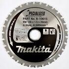 Makita Cordless Circular Saw Blade for Metal 136mm X 30 Teeth 20mm Bore