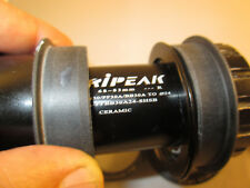 68mm-83mm CERAMIC Tripeak Bottom Bracket BB30/PF30 -> Shimano 24mm BSA Crankset
