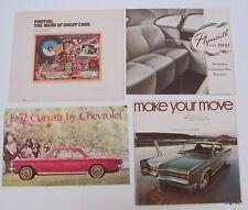 1941 Plymouth 1962 Corvair 1968 Chrysler 1977 Pontiac Sales brochures / catalogs