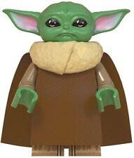 Star Wars Mandalorian Baby Yoda Child Custom Lego Mini Figure Action Figure RARE