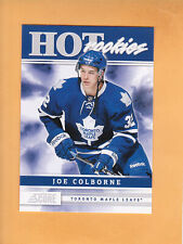 2011 12 SCORE JOE COLBORNE HOT ROOKIES #540 TORONTO MAPLE LEAFS