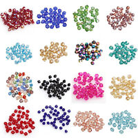 """""""Buy 3 Get 1 Free"""" 200pcs bicone crystal glass  4mm loose spacer Beads Wholesale"""