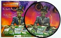 """MINT! IRON MAIDEN The Angel And The Gambler 7"""" VINYL PICTURE PIC DISC 1998"""