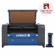 Omtech 70w 16x30 Bed Co2 Laser Engraver Cutter With Autofocus Rotary Axis C