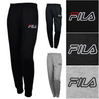 Fila Men's Outlined Embroidered Logo Athletic Gym Jogger Sweatpants