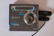 SONY MZ G750 MINIDISC PLAYER RECORDER WITH SONY MICROPHONE