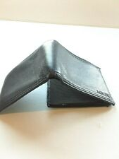 Genuine Leather Levi's Wallet Black Men's