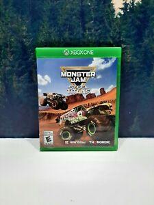 Monster Jam Steel Titans Microsoft Xbox One Series X Game