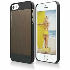 Elago S5 Outfit MATRIX Aluminum Case for iPhone 5/5S/SE - SF Black/Chocolate
