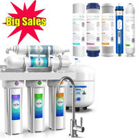 5Stage 75G Reverse Osmosis Drinking Water Filter Purifier System Extra 5 Filters