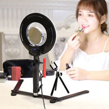 "8"" LED Studio Ring Light Photo Video Lamp Light Kit For Camera & Phone"