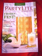 PartyLite Katalog Herbst/Winter ★Hauptkatalog 2014 ★★Jonathan Adler Designer★NEU