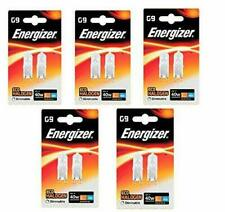 10 x G9 33w=40w Energizer Dimmable Energy Saving Halogen bulbs