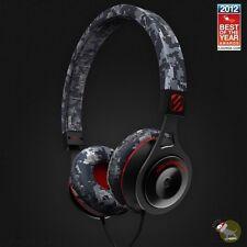 Scosche RH656M-Camo On-Ear Headphones w/ tapLINE Remote & Mic