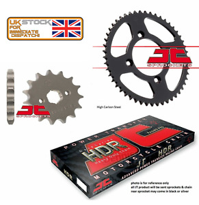HYOSUNG GV125 AQUILA 2001 - 2015 JT Heavy Duty Chain and Sprocket Set Kit