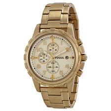 Fossil Dean Gold-tone Mens Watch FS4867-AU