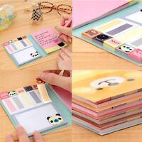 Creative Portable Exercise Diary Cartoon Paper Notebook Memo Notepad