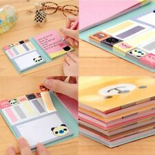 Creative Portable Exercise Diary Cartoon Paper Notebook Memo Notepad