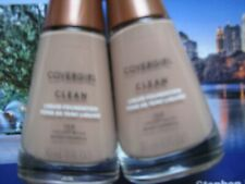 Covergirl Clean liquid foundation #150 Creamy beige lot of 2 full size New