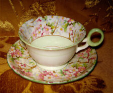 VINTAGE SHELLEY *MAYTIME* CUP & SAUCER MADE IN ENGLAND as is