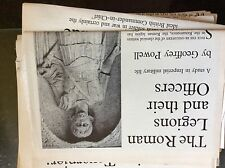 A1v ephemera article 1860s the roman legions and their officers imperial life