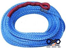 Australian made 10mm x 30M winch rope blue