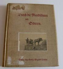 Zabel, Rudolf. Durch die Mandschurei und Sibirien. 1902