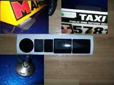 5  Clear vinyl Stickers for Taxi or  School Of Motoring Roof  sign magnets.