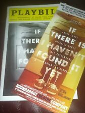 Playbill JAKE GYLLENHAAUL Broadway Debut IF THERE IS I HAVEN'T FOUND IT YET