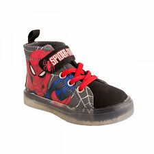 Spider-Man Kids Lighted Canvas Shoes Multi-Color