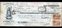 """LAVAL (53) USINE de COUTILS / A LA FRANCE """"BEASSE / E. AUBRY Succ."""" en 1925"""