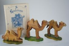 Kathe Wohlfahrt Set Of Three Camels Limited Edition 258/400 KINDERTRAUM Germany