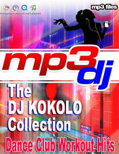 LET'S Go.. Extreme Dance,Workout,Club,Party,House (8 Mixes) On 1 MP3 DVD Disc