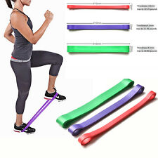 3pcs Resistance Loop Bands Exercise Yoga Bands Rubber Fitness Training Strength