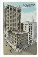 DETROIT MICHIGAN The Dime Bank McGraw and Free Press Buildings