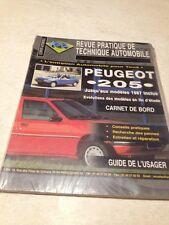 Revue Pratique Technique Automobile  Peugeot 205 édition 98